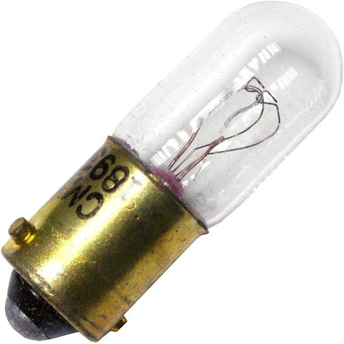 14.4V .1A T3-1//4 Miniature Bayonet Base Light Bulb 1813