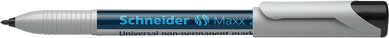 10er Packung rot Schneider Maxx 225 M Universal-Marker non-permanent, feucht abwischbar, 1,0 mm