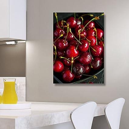 Quadri L&C ITALIA - Cuadro para cocina con diseño de frutas 1 ...