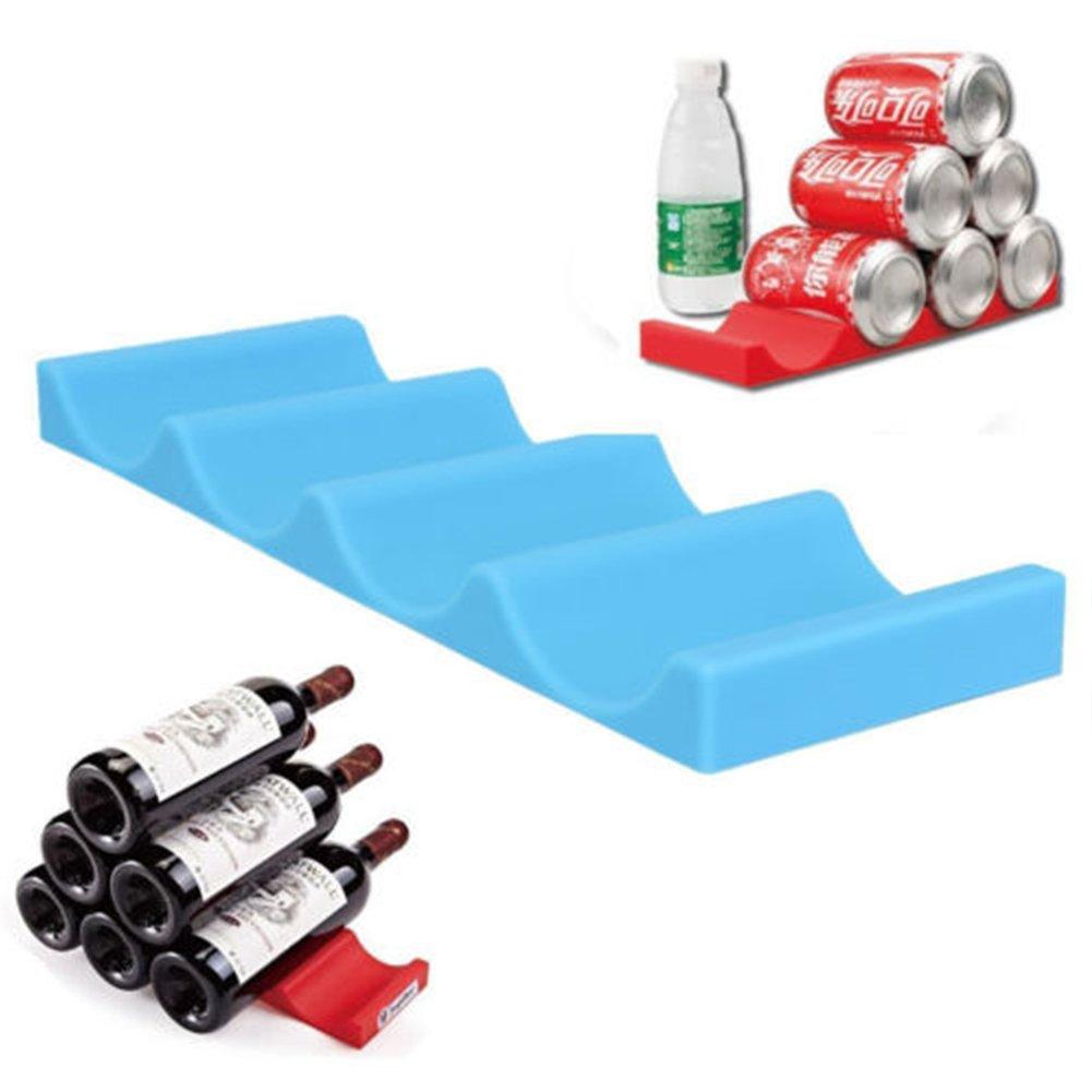 Can Easy Stacker Kitchen Cabinet Fridge Storage Rack