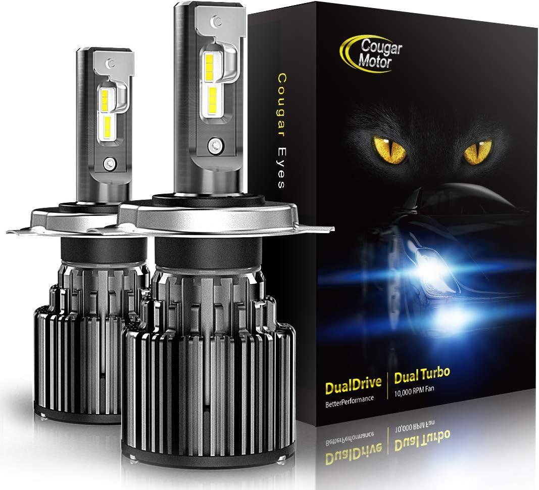 Cougar Motor H4 LED Bulbs