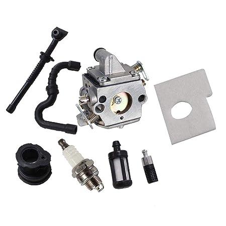 B Blesiya - Carburador con Filtro de Aire para Motosierra STIHL ...