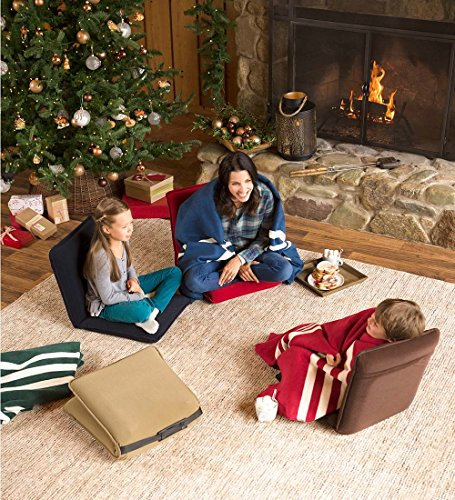 Plow & Hearth Multiangle Folding Chair Pad With Adjustable