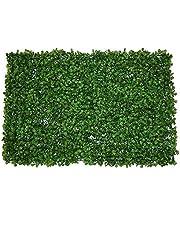 نباتات حائط اصطناعية من اجل الاستخدام داخل/خارج المنزل، وكديكور للفِلل والحدائق، عشب اصطناعي
