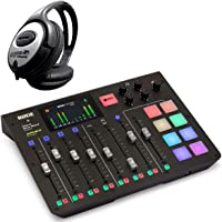 Rode RodeCaster Pro All-in-One - Estación de podcast y auriculares Keepdrum