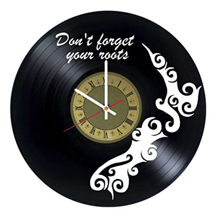 New Zealand Vinyl Wall Clock Great Gift For Men Women Kids Girls And