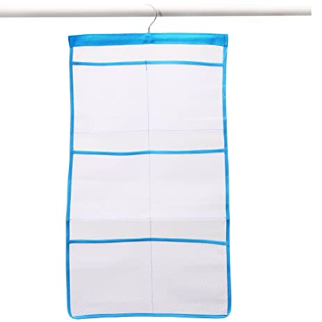 Captivating Adeeing Fast Dry Hanging Mesh Bath Shower Caddies Shower Organizer With 6  Clear Storage Dispenser Pockets
