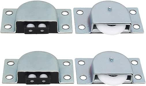 Armario puertas correderas metálicas para muebles rodillo rueda ...