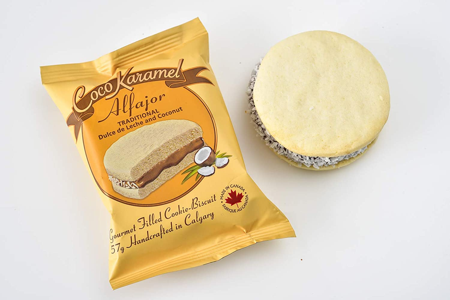 Alfajores - Traditional - Dulce de Leche - Gourmet Cookie-Pie - 6 Pack Gift Box: Amazon.com: Grocery & Gourmet Food