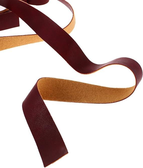 MagiDeal 10/m Lungo Striscia courrouie Tracolla in Pelle Sintetica per bricolage Artigianato Vino Rosso