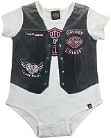 Amazon.com: Harley Davidson Baby Girls My Grandpa Rides