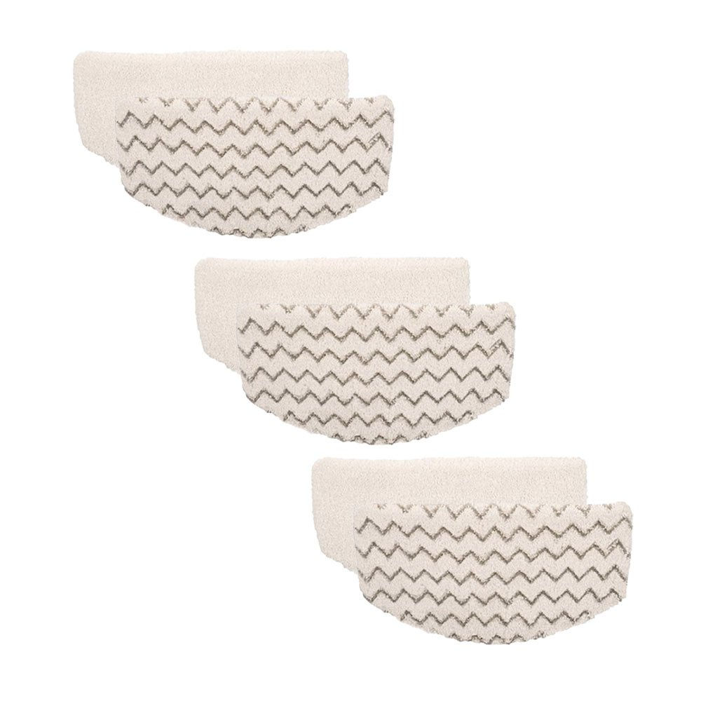 Wood Bury 6 Pack Bissell PowerFresh Steam Mop Pads 1940 1440 1544 Series, Model 19402 19404 19408 1940A 1940Q 1940T 1940W