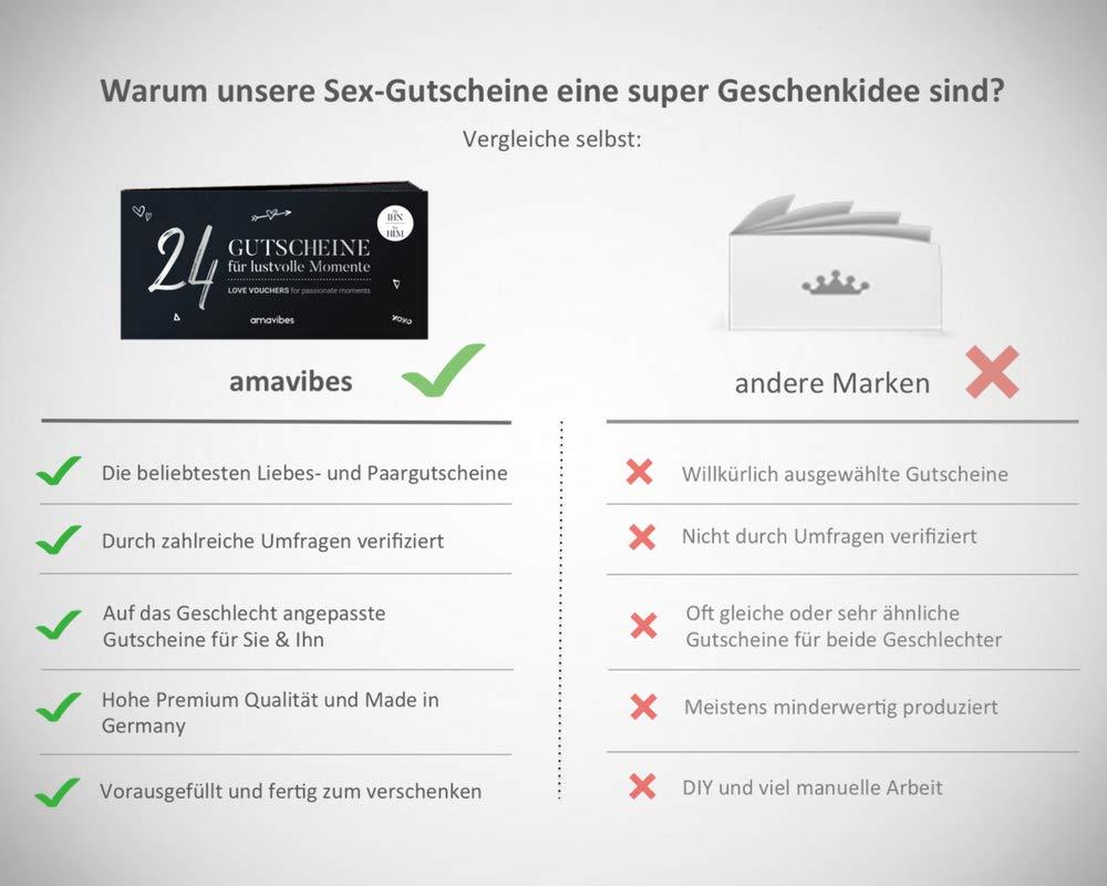 Premium Liebes-Gutscheinheft für Männer: Adventskalender mit 24 ...