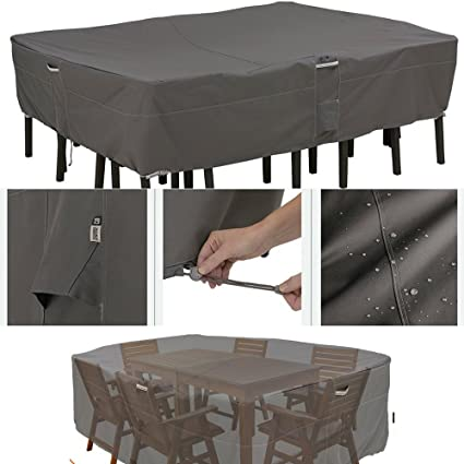 Amazon Com Heavy Duty Patio Furniture Set Cover Extra Large Sized