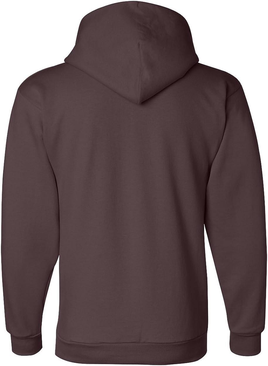 Champion Mens 9 Oz, 50/50 EcoSmart Pullover Hood (S700) Maroon