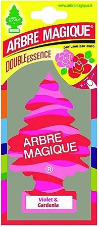 Abremagique 1710548 Lufterfrischer Wunderbaum Voilet Gardenia Pink Auto