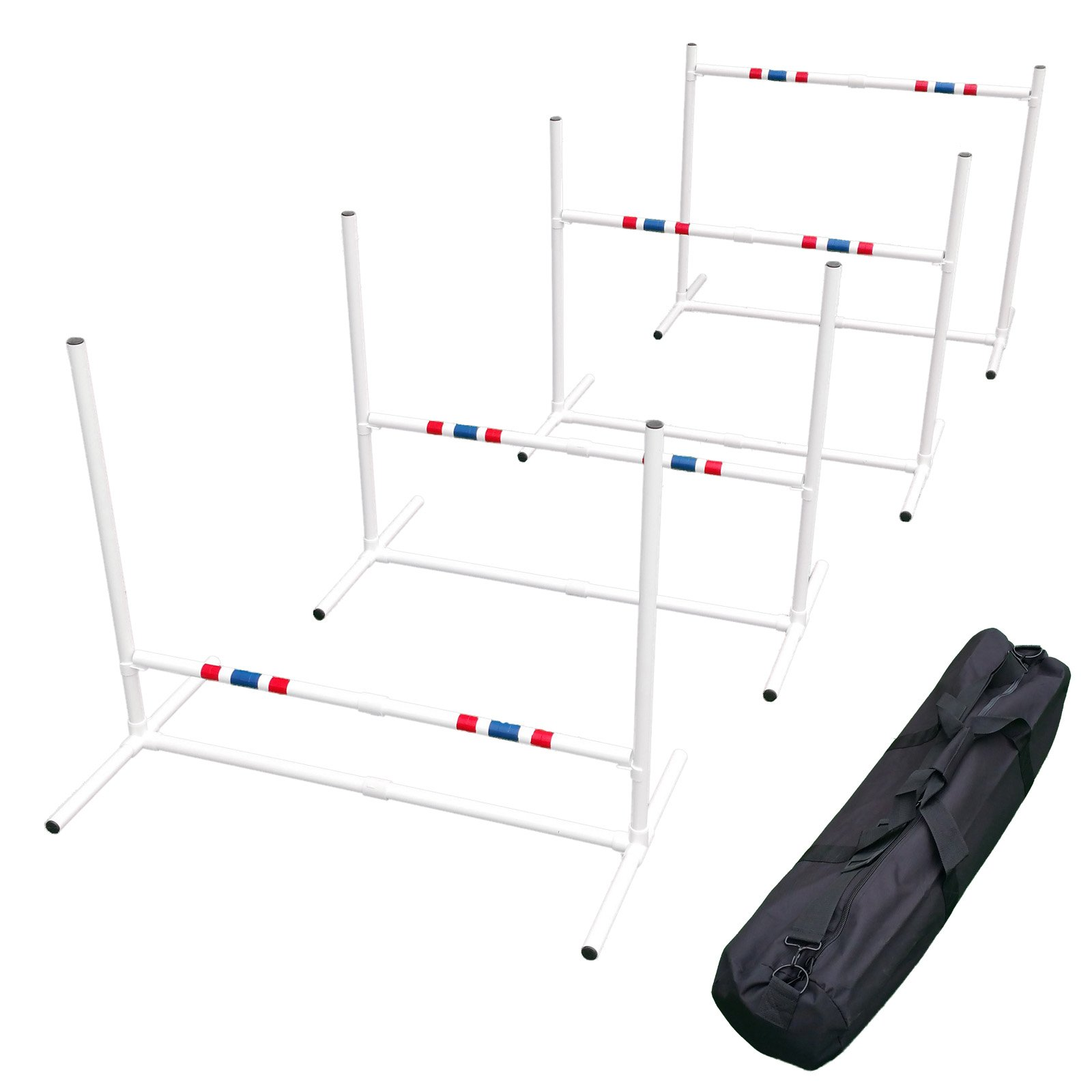 Affordable Agility Travel Jump Set (4 Jumps and Carry Bag) by Affordable Agility
