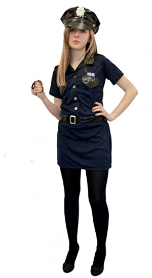 Sexy Police Woman Costume Size UK 8-16 (message size)  sc 1 st  Amazon UK & Sexy Police Woman Costume Size UK 8-16 (message size): Amazon.co.uk ...