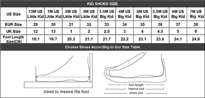 7 m us big kid size