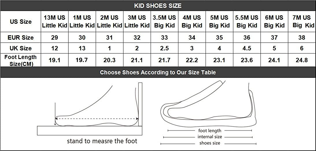 Coloranimal Toddler Kids Lace Up Canvas Sneaker Comfortable Breathable Mesh High Top Flats