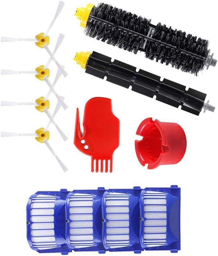 Chirsemey - Juego de accesorios para robot aspirador Roomba 600 Serie 600 605 610 615 616 620 621 625 630 631 632 650 651 660 670 680 691 696: Amazon.es: Hogar