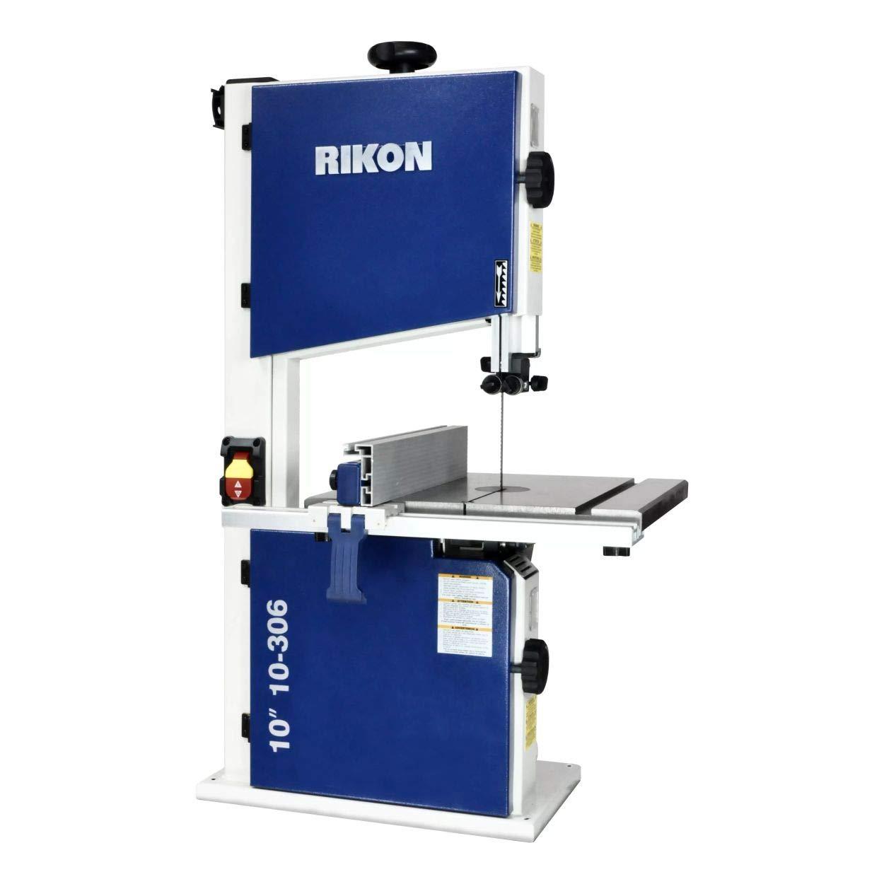 RIKON 10 In. Deluxe Bandsaw 1 2 HP