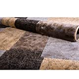 Home Dynamix  HD814-540 Tribeca Collection Area Rug  7'10'' X 10'6'' Brown-Gray