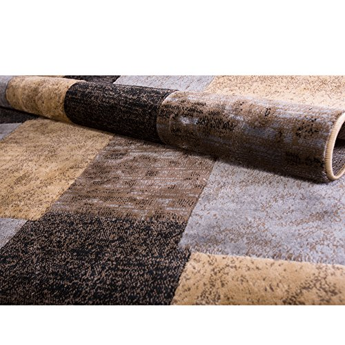 Home Dynamix  HD814-540 Tribeca Collection Area Rug  7'10'' X 10'6'' Brown-Gray by Home Dynamix