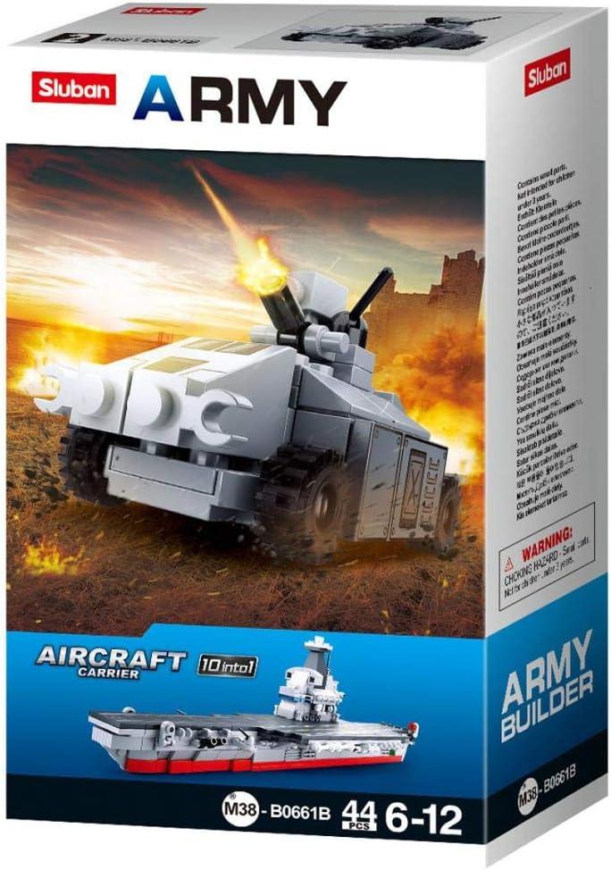 Tank 2 Imaginative Indoor Games Toys for Kids Mega Army Aircraft Carrier Mega Fighter Set and More SlubanKids Creative Building Blocks Set