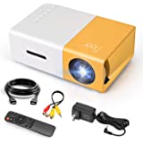 Mini Projector, Meer Portable Pico Full Color LED LCD Video Projector for Children Present, Video TV Movie, Party Game, Outdo
