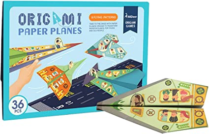 Amazon.com: MiDeer - Juego de papel para niños con diseño de ...