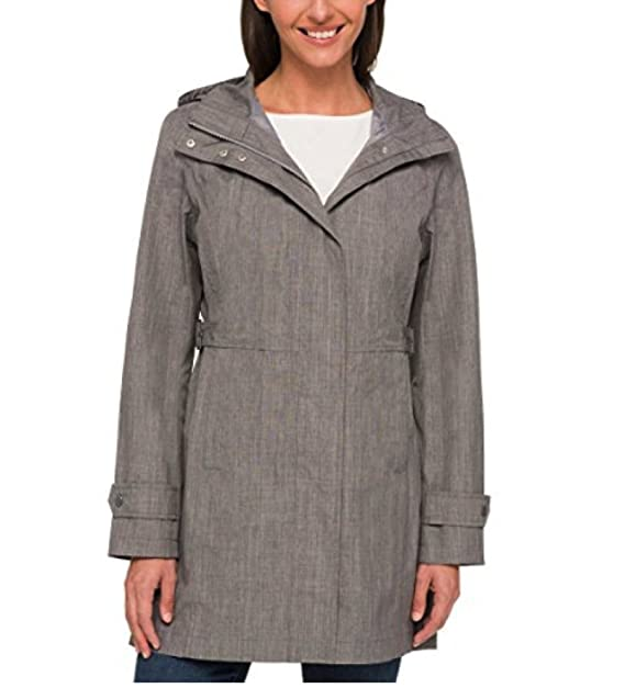 2b4dc4138 Kirkland Signature Ladies Trench Coat XX-(Large, Lt Grey)