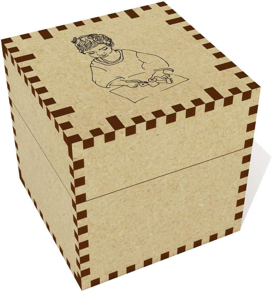 Azeeda Medio Dibujo Infantil Joyería Caja (JB00023312): Amazon.es: Juguetes y juegos