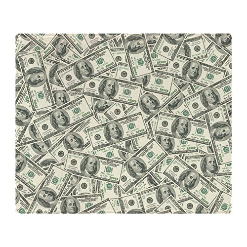 CafePress Dollar Pattern Blanket Stadium