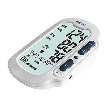 MDF® Lenus® - Brazo digital monitor de presión arterial con Adulto clasificado Cuff Incluido - Blanco (MDFBP6504-29): Amazon.es: Salud y cuidado personal