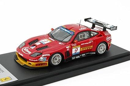 Amazon Bbr 143 Ferrari 575 Gtc Red 9 Fia Gt Estoril 2003