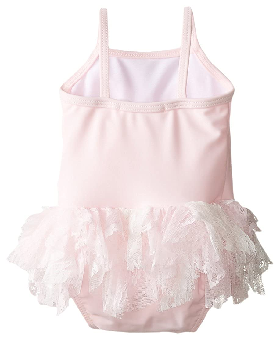 Kate Mack Girls Newborn Social Butterfly Skirted Tank