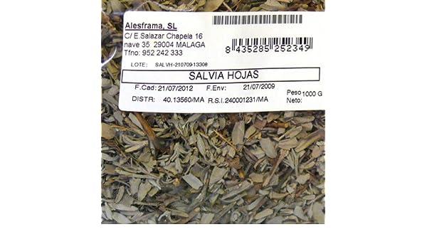 SALVIA HOJAS - bolsa 250 gr: Amazon.es: Alimentación y bebidas