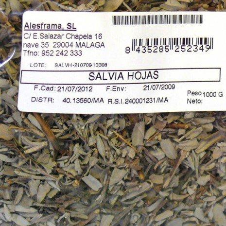 SALVIA HOJAS - bolsa 1/2 k: Amazon.es: Alimentación y bebidas