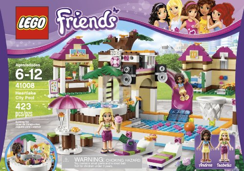 Amazon.com: LEGO Friends Heartlake City Pool 41008: Toys & Games