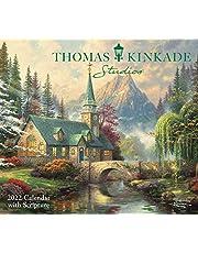 Thomas Kinkade Studios 2022 Deluxe Wall Calendar with Scripture