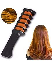 1PC Amazing Hair Dye Comb Diy Hair Color Disposable Hair Comb Washable Hair Hair Color For Hairdressing Supplies - Hot Orange