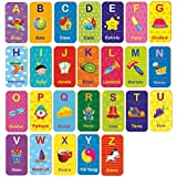 Brinquedo Pedagógico Madeira Letras do a ao Z 78 Peças Brincadeira De Criança