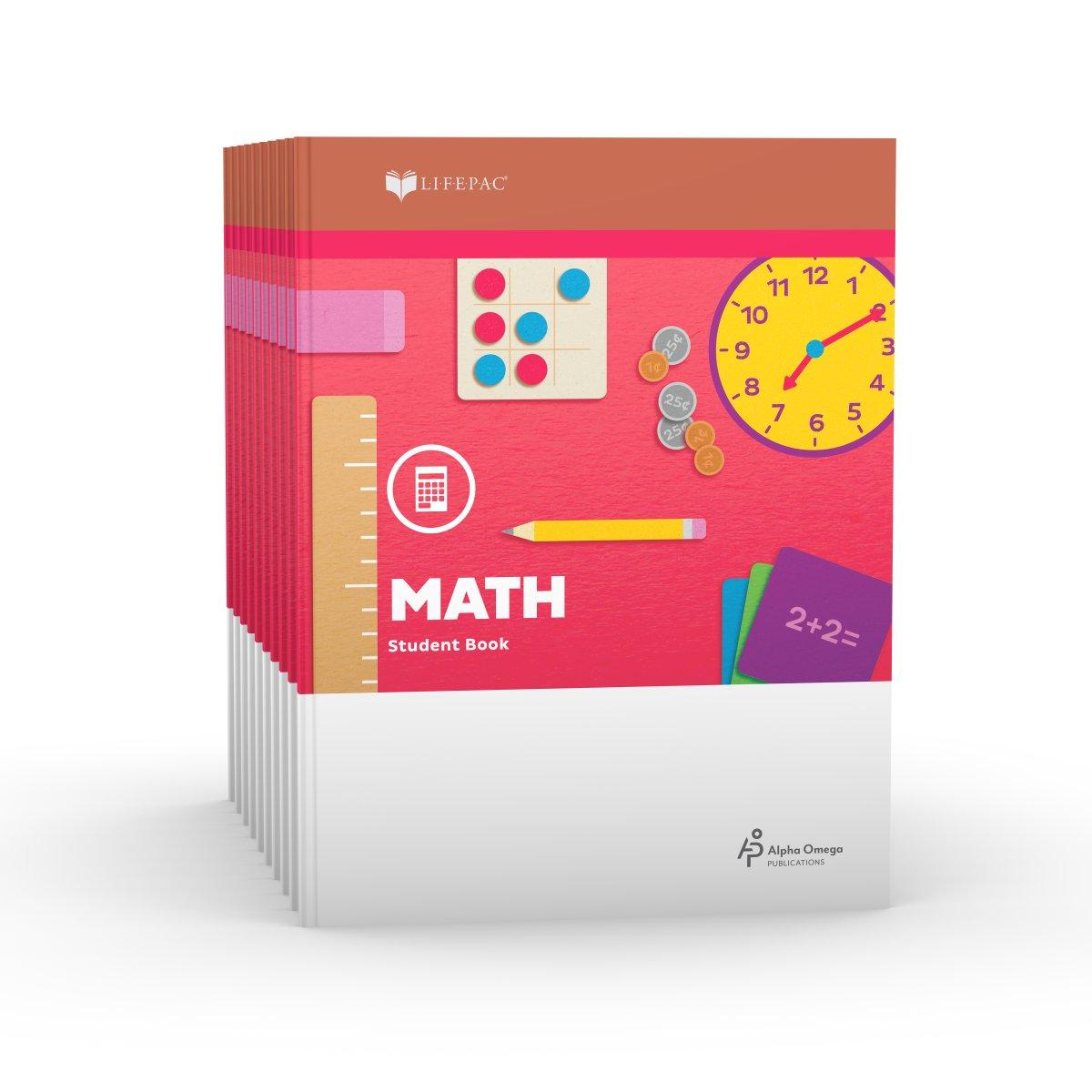 Read Online Lifepac Gold Mathematics Grade 1: Set of 10 PDF