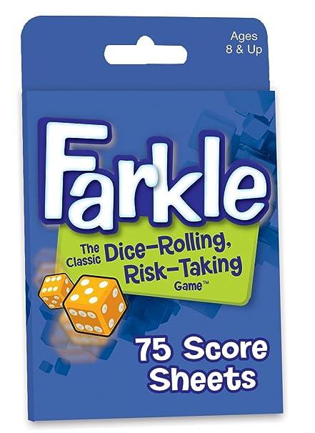Amazon Farkle Score Sheets Toys Games