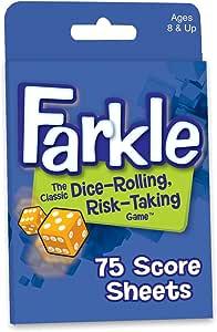 Farkle Dice Game Score Sheets