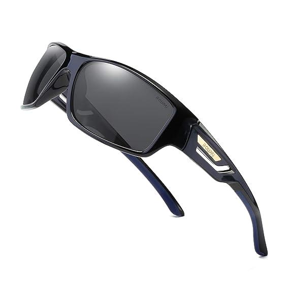 Amazon.com: Gafas de sol polarizadas para deportes TR90 ...