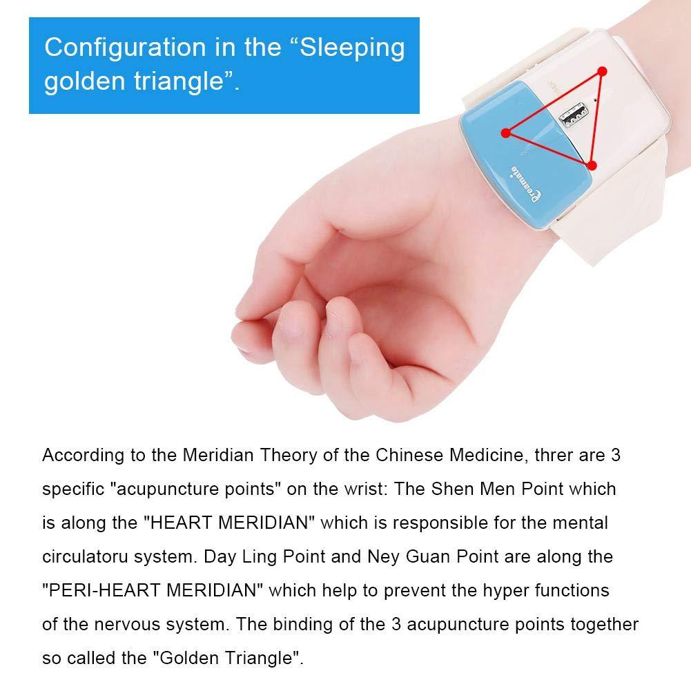 AntiRonquidos Pulsera Ronquido Ayuda masajeador para dormir para el ...