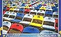 カラフルなStadium Seats–Puzzlebug 500ピースジグソーパズル