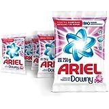 Ariel Detergente En Polvo con Un Toque de Downy 5 Unidades de 750g, Total 3.75Kg